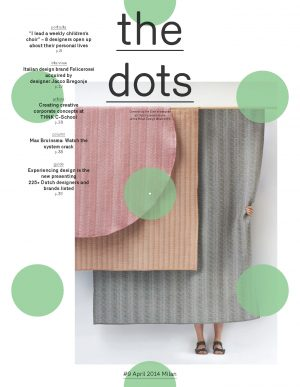 The Dots #9 – Milan Design Week 2014. Reverse cover with ELLE Decoration. Click on thumbnail to download full pdf